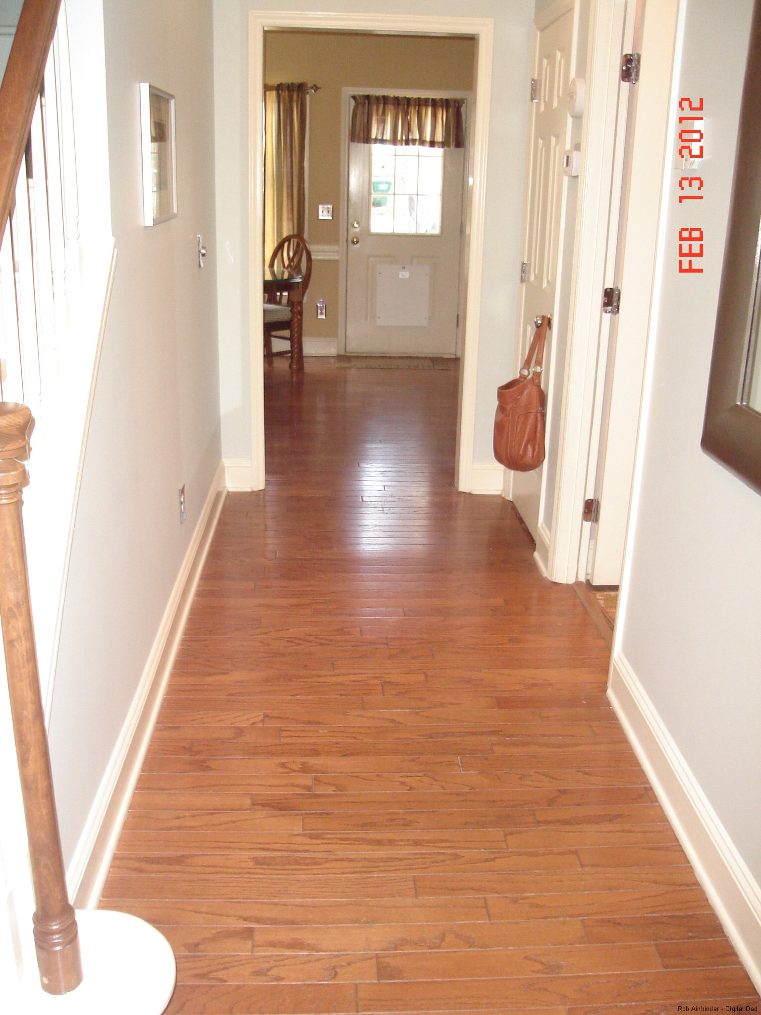 Easy to install wood flooring thefloors co for Laying hardwood floors