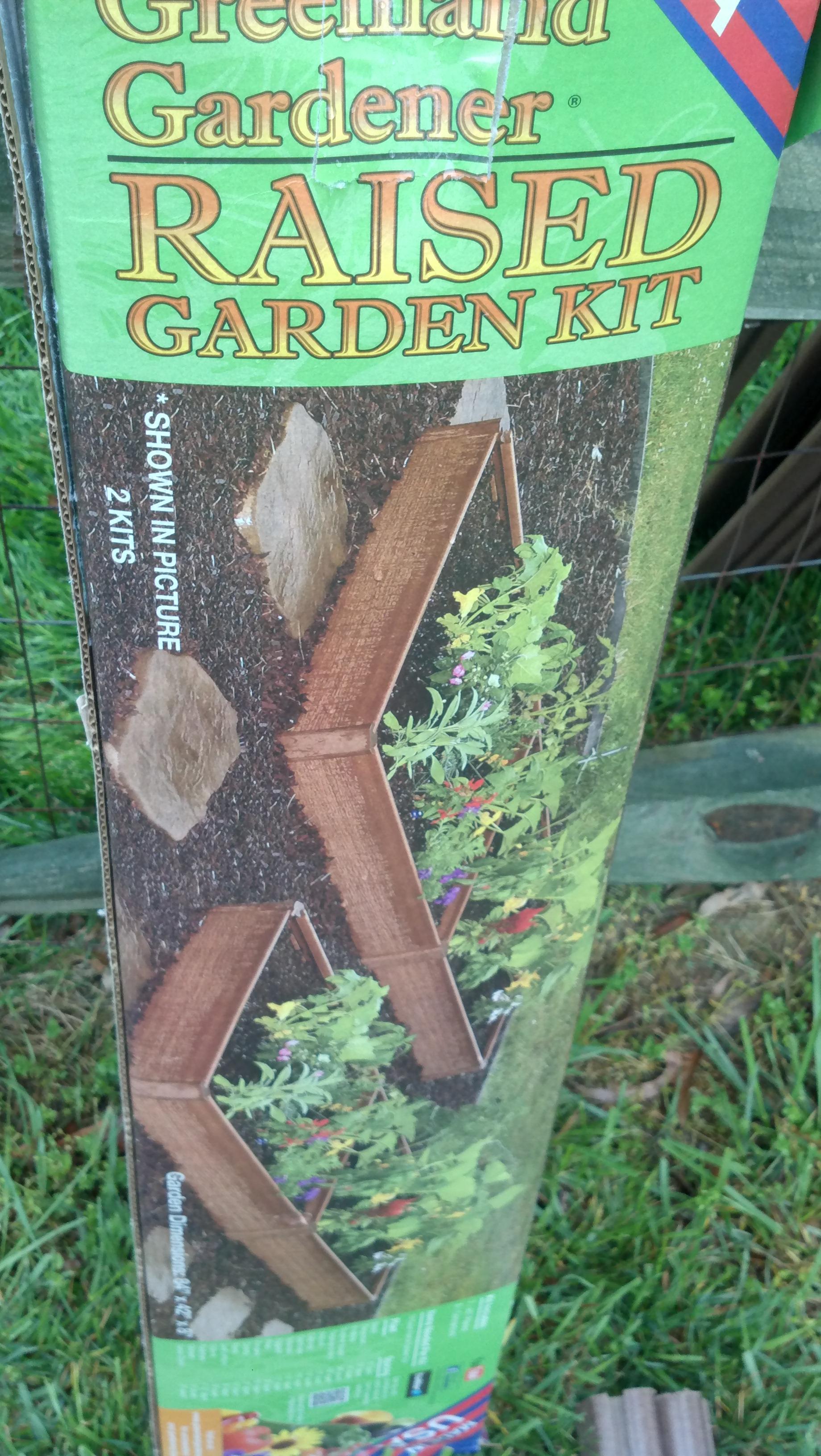 Greenland gardener raised bed garden kit - Greenland Gardener Squarefoot Raised Bed Garden