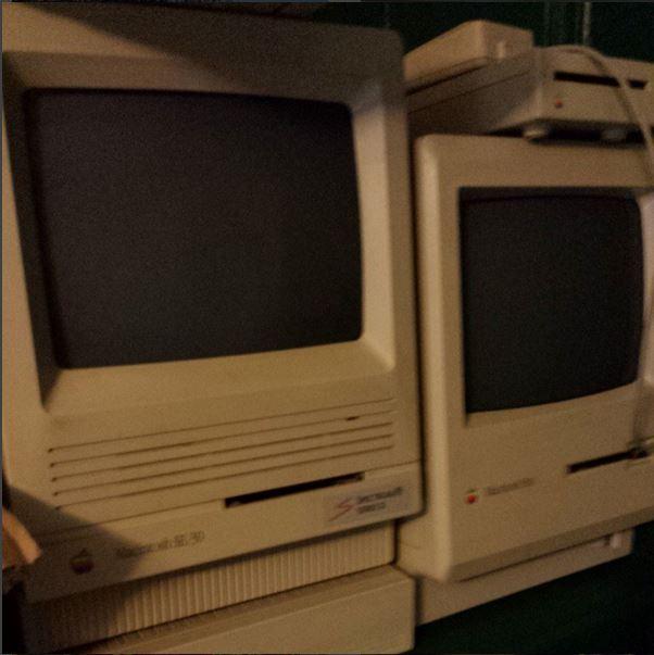 Old Macs photo by Rob Ainbinder