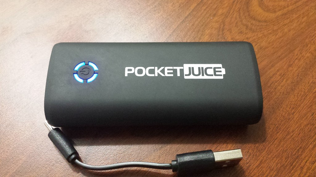 TZUMI pocket juice recharger
