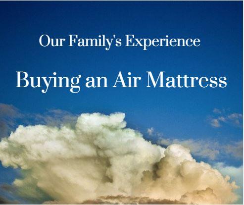 air mattress like sleep number