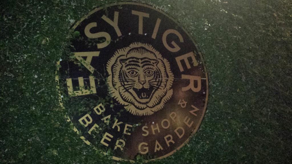 Easy Tiger sign Austin,TX