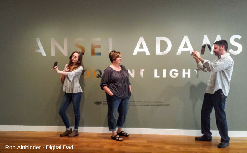Ansel Adams Eloquent Light at Reynolda Illuminates Adults & Teens