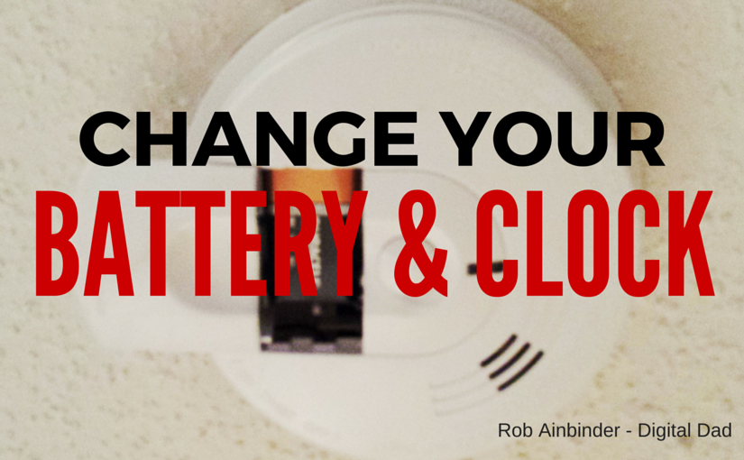 Spring Forward: My Dad Says Change Your Clocks, Your Smoke Detector Batteries