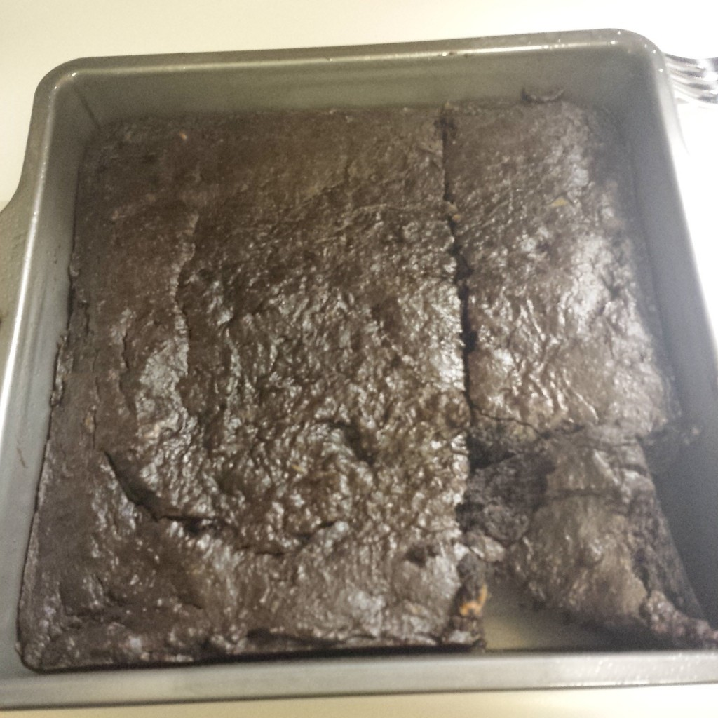 Sweet potato brownies. Nope.