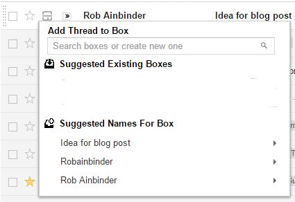 adding an email thread to a box- i-streak-crm1