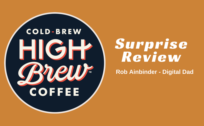 High Brew Coffee - Cold Brew Review