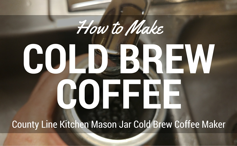 how to make cold brew coffee with ground coffee