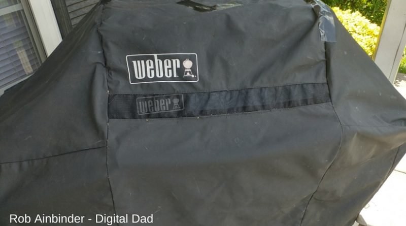 how to repair a weber grill cover with gorilla tape rob ainbinder digital dad
