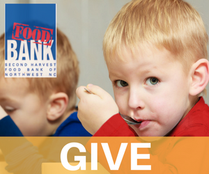 Give to Second Harvest Food Bank NWNC