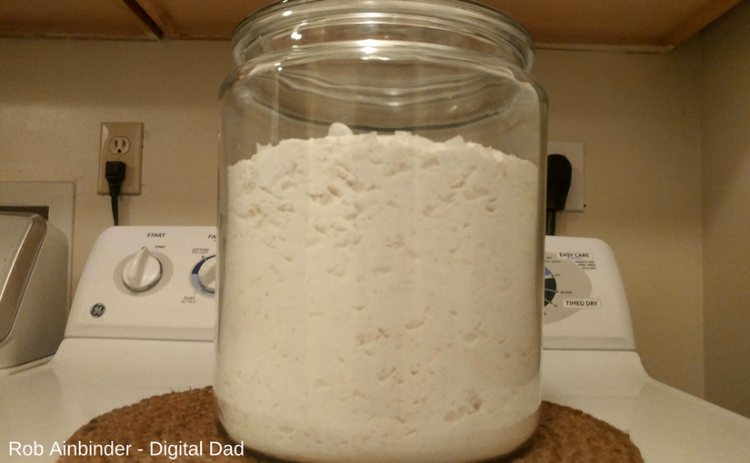 storing homemade laundry soap