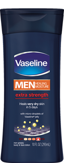 Vaseline Mens Extra Strength lotion