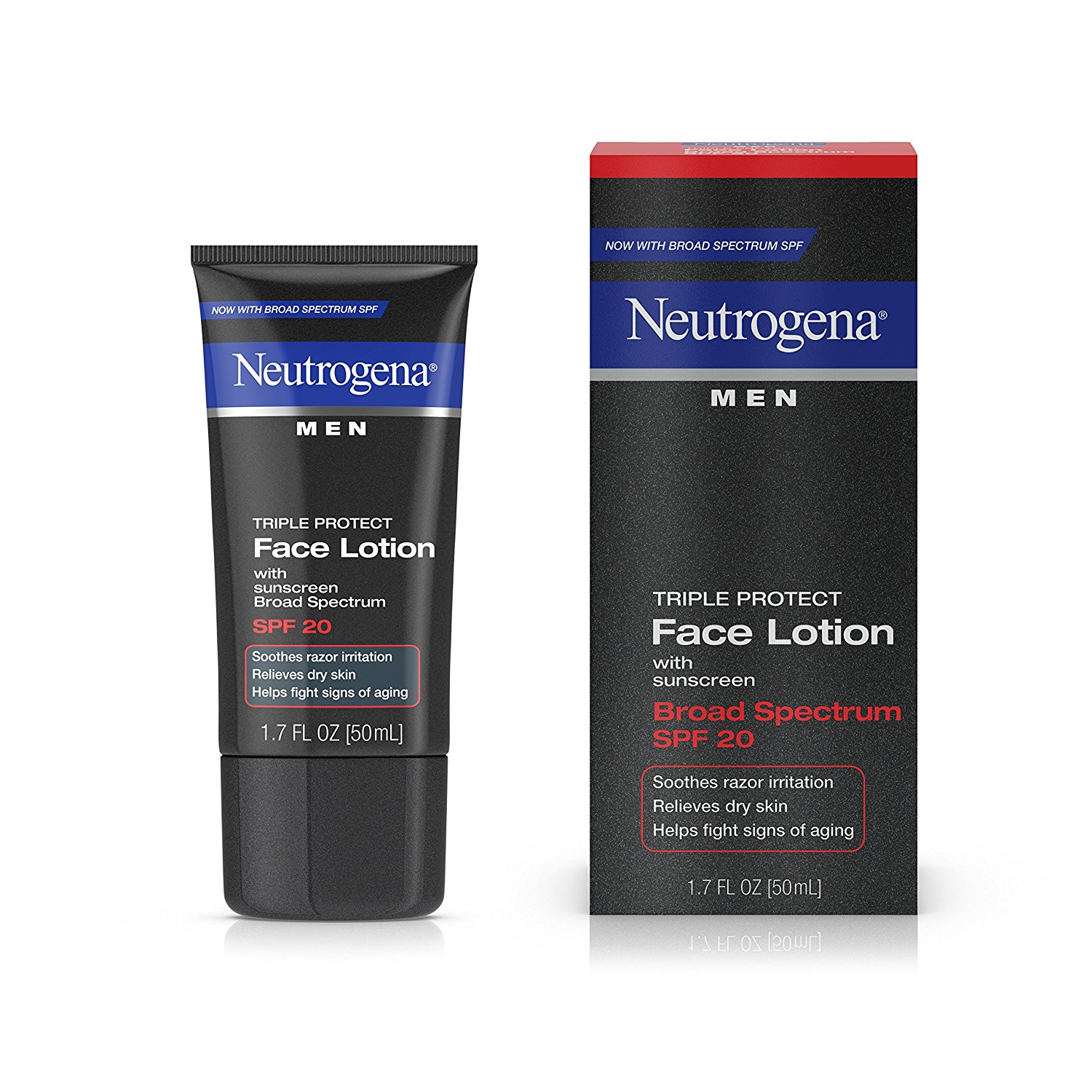 Neutogena triple protect face lotion