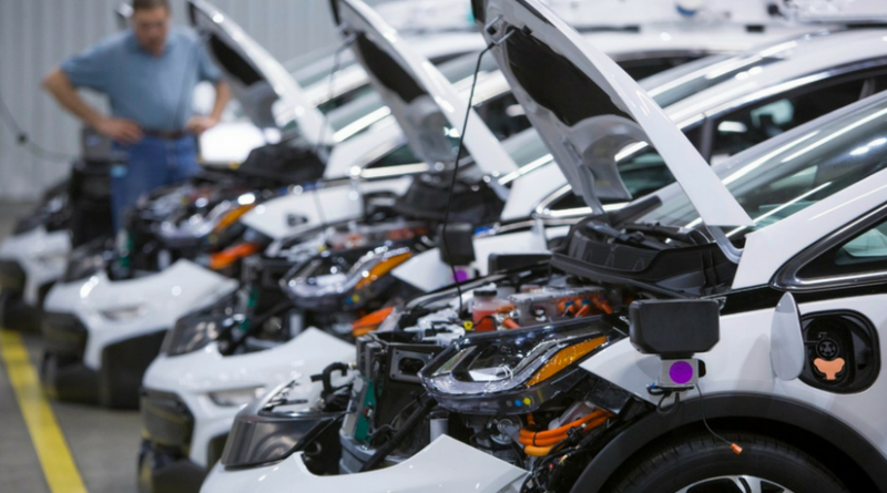 GM Mass Produces First Round of Self-Driving Chevrolet Bolt EV Test Vehicles
